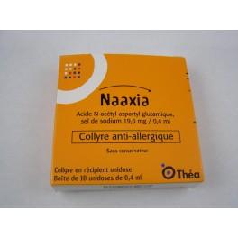 Naaxia collyre unidoses