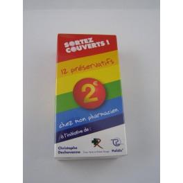 Préservatifs sortez couverts boite de 12