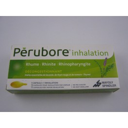 Pérubore inhalation