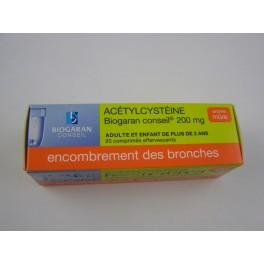 Acétylcystéine 200 mg 20 cps eff Biogaran