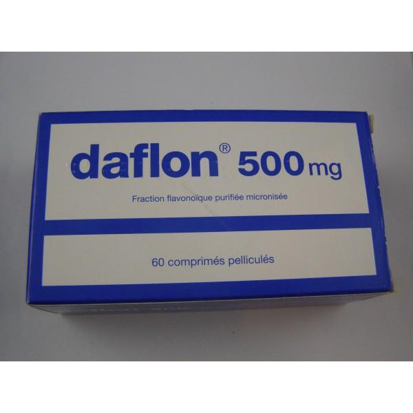 Daflon 500 mg 60 comprimés - Le comptoir du médicament