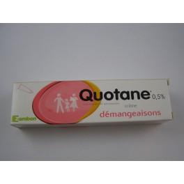 Quotane 0,5 pour cent  crème 30 g