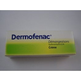 Dermofenac démangeaisons 0,5 pour cent crème 15 g