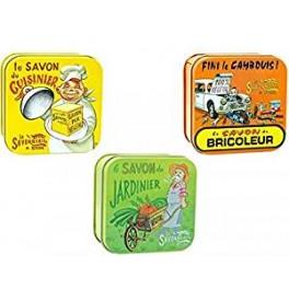 Lot de 3 savons spéciaux la savonnerie de nyons