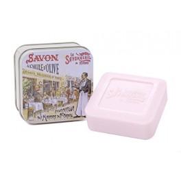 Savon boîte métal Paris 3 le brewer 100 g la savonnerie de Nyons