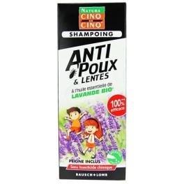 Cinq sur cinq anti poux shampoing 100 ml