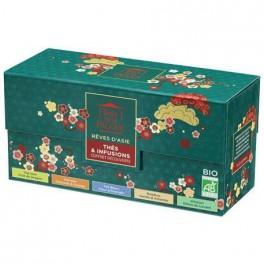 Coffret  découverte thés et infusions Rêves d'Asie 25 sachets