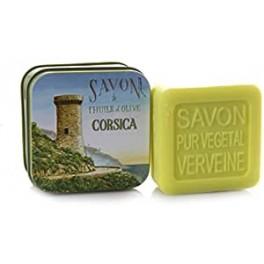 Savon boîte métal tour génoise la savonnerie de Nyons 100 g