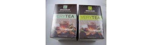 Tisanes et thés